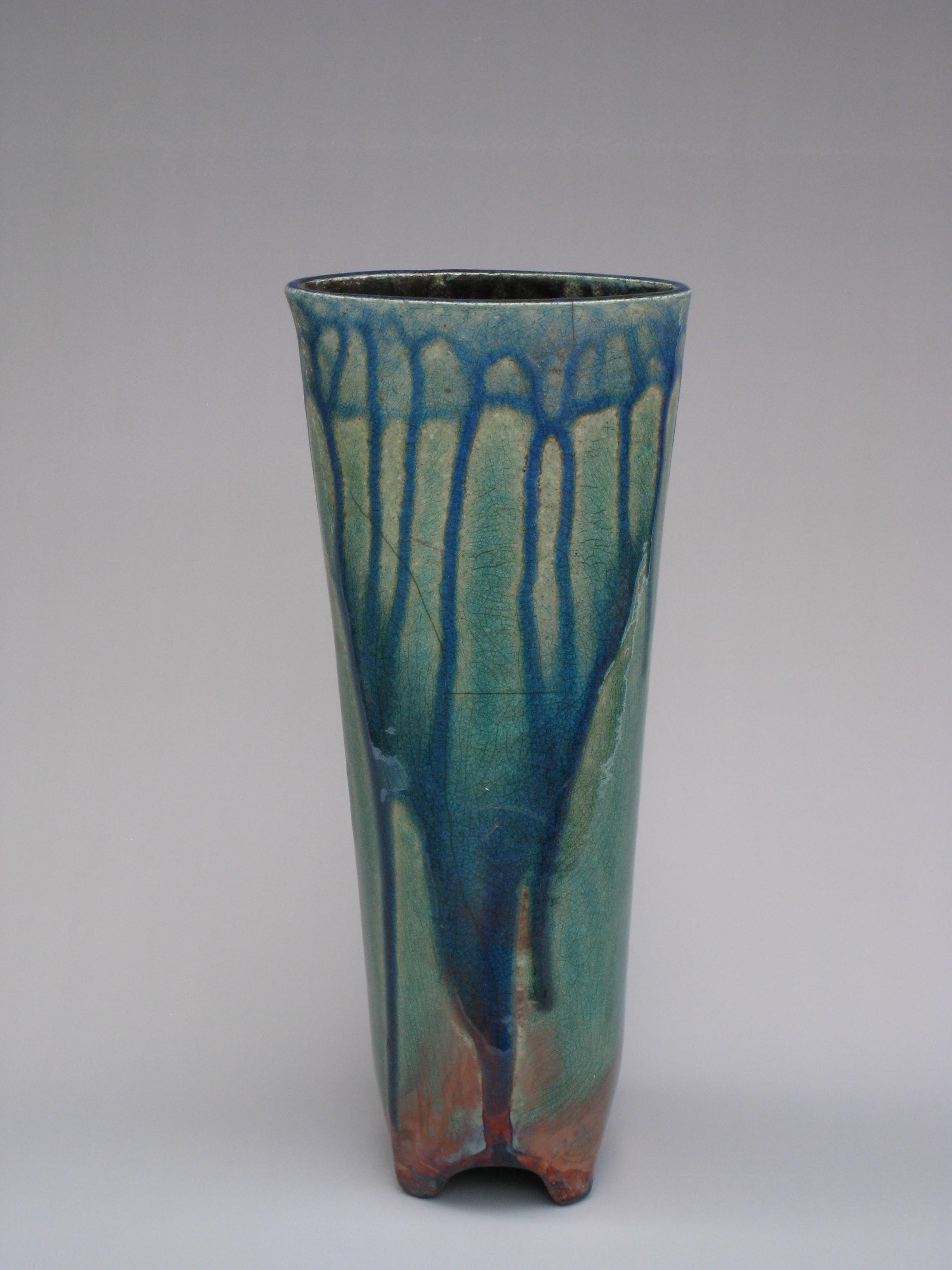 Barrel Footed Vase